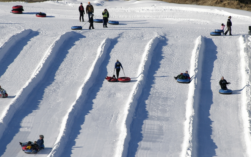 Minnesota's Top Five Tubing Sites - Elm Creek