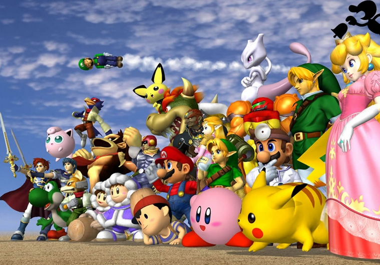 Nostalgia Video Gaming -- The Super Smash Bros. Series