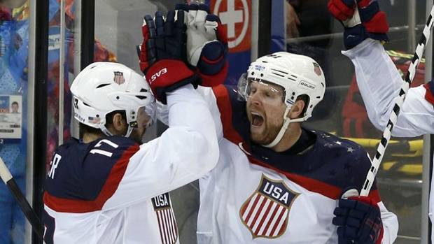 Phil-Kessel - Magic Number 4- U.S.A. Hockey Wins Again as Minnesotans Continue to Shine in Sochi