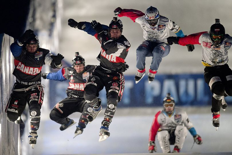 Red Bull Crashed Ice Action