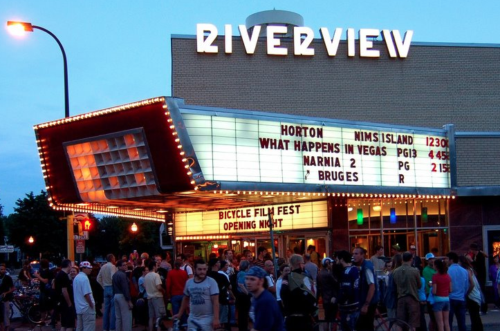 Riverview Theater - Minneapolis -exterior