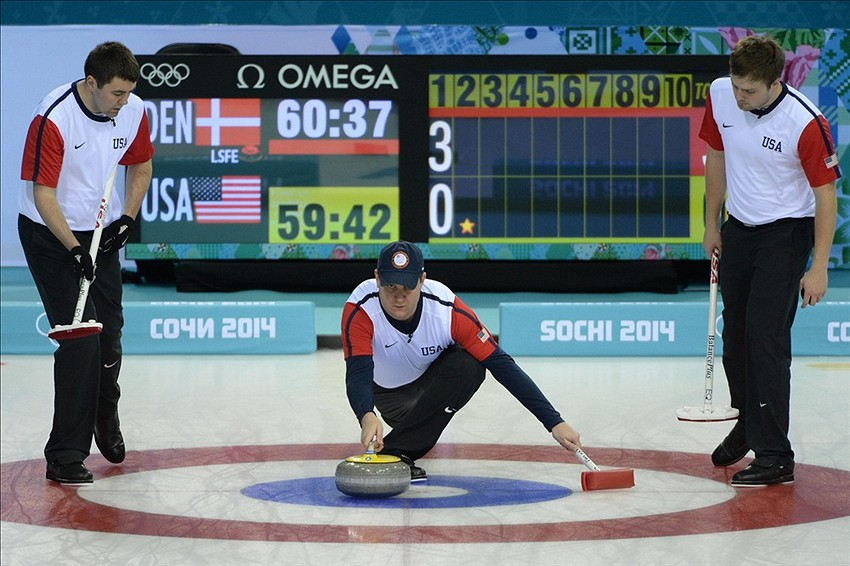 Sochi Men Curling