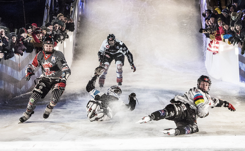St. Paul Crashed Ice - 2014 - St. Paul Events - padded skaters