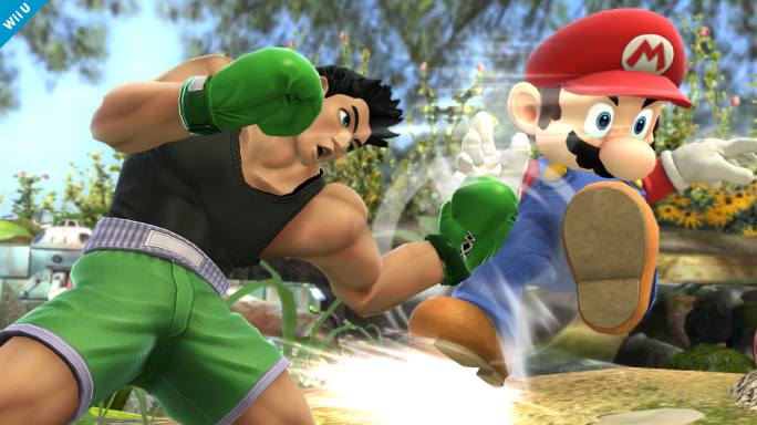 Super Smash Bros. 4 - Little Mac