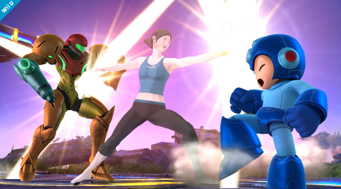 Super Smash Bros. 4 - Wii Trainer