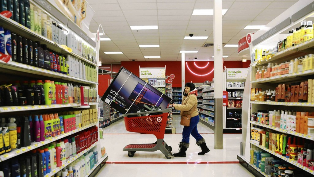 Target Cart Television - Data Breach