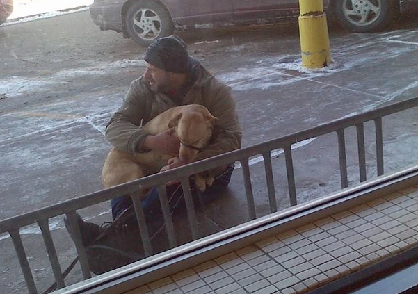 Winona Man Helps Freezing Dog - Allen Campbell - Post Office - Negative 25 degree weather