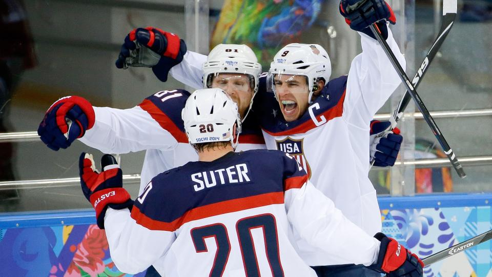 Zach Parise - U.S.A. Hockey Wins Again as Minnesotans Continue to Shine in Sochi