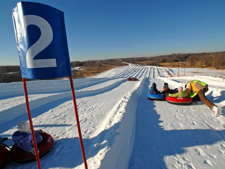 elm creek - Minnesota Connected - Minnesota's Top Five Tubing Sites