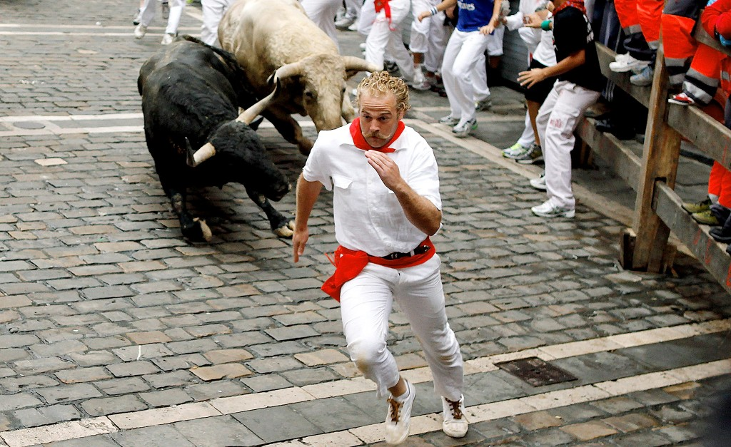 running of the bulls spain pamplona