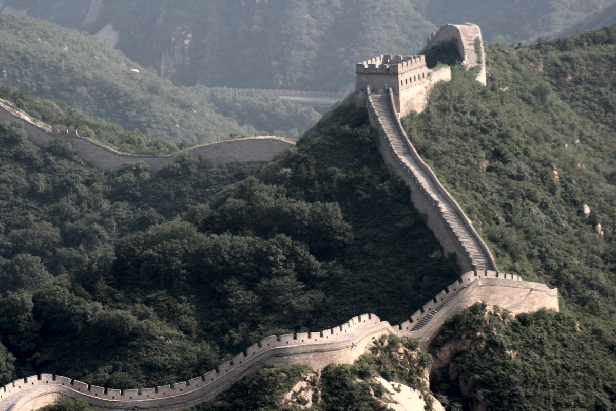 snaking-of-great-wall-of-china