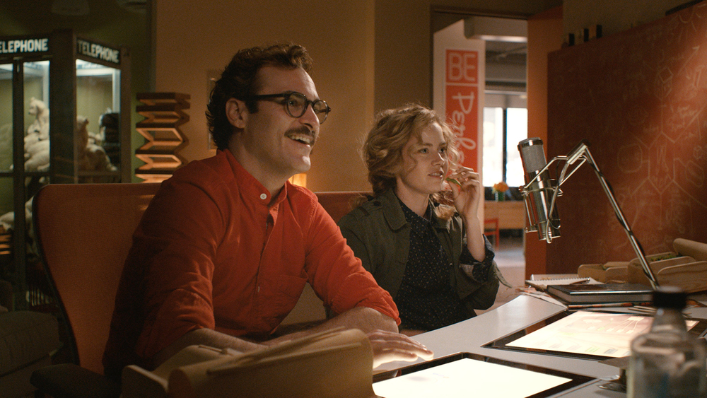 spike-jonze - her - joaquin phoenix - amy adams - movie-review