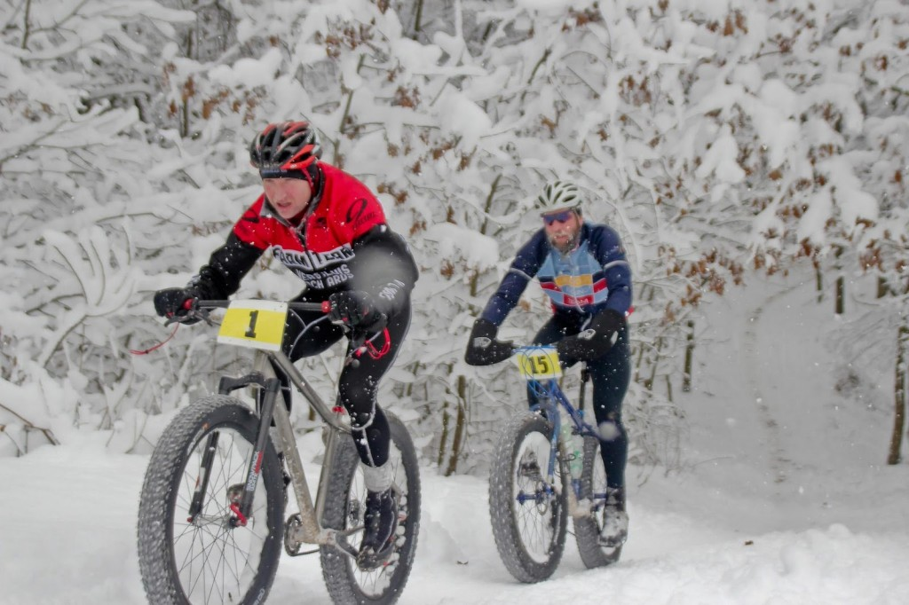Fat Bike Race Snow