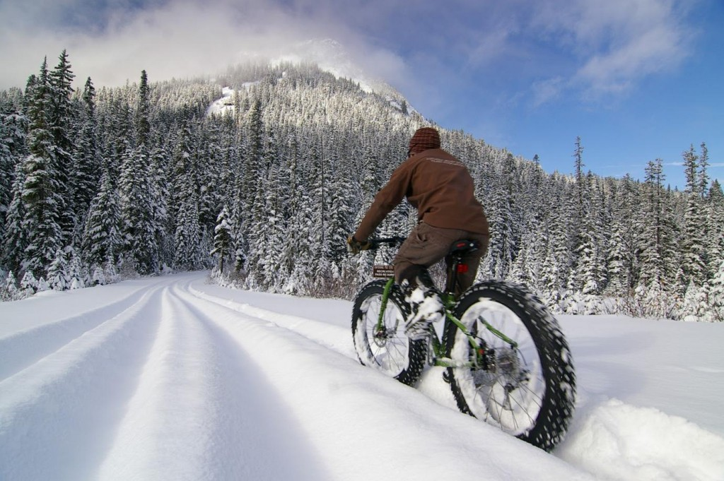 Fat Bike Race Snow 2