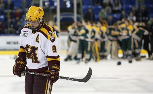 Gophers loss women clarkson
