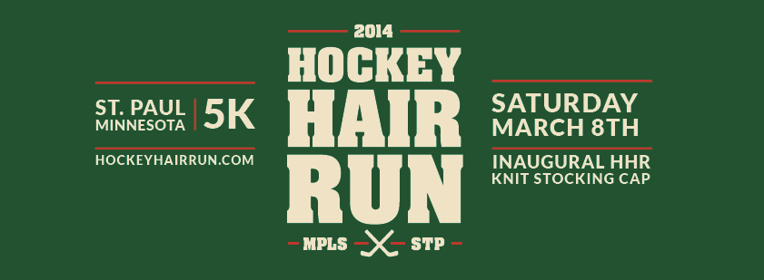 Hockey Hair Run Heading