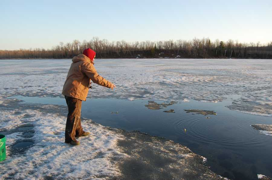 Ice Melt Fishing Minnesota