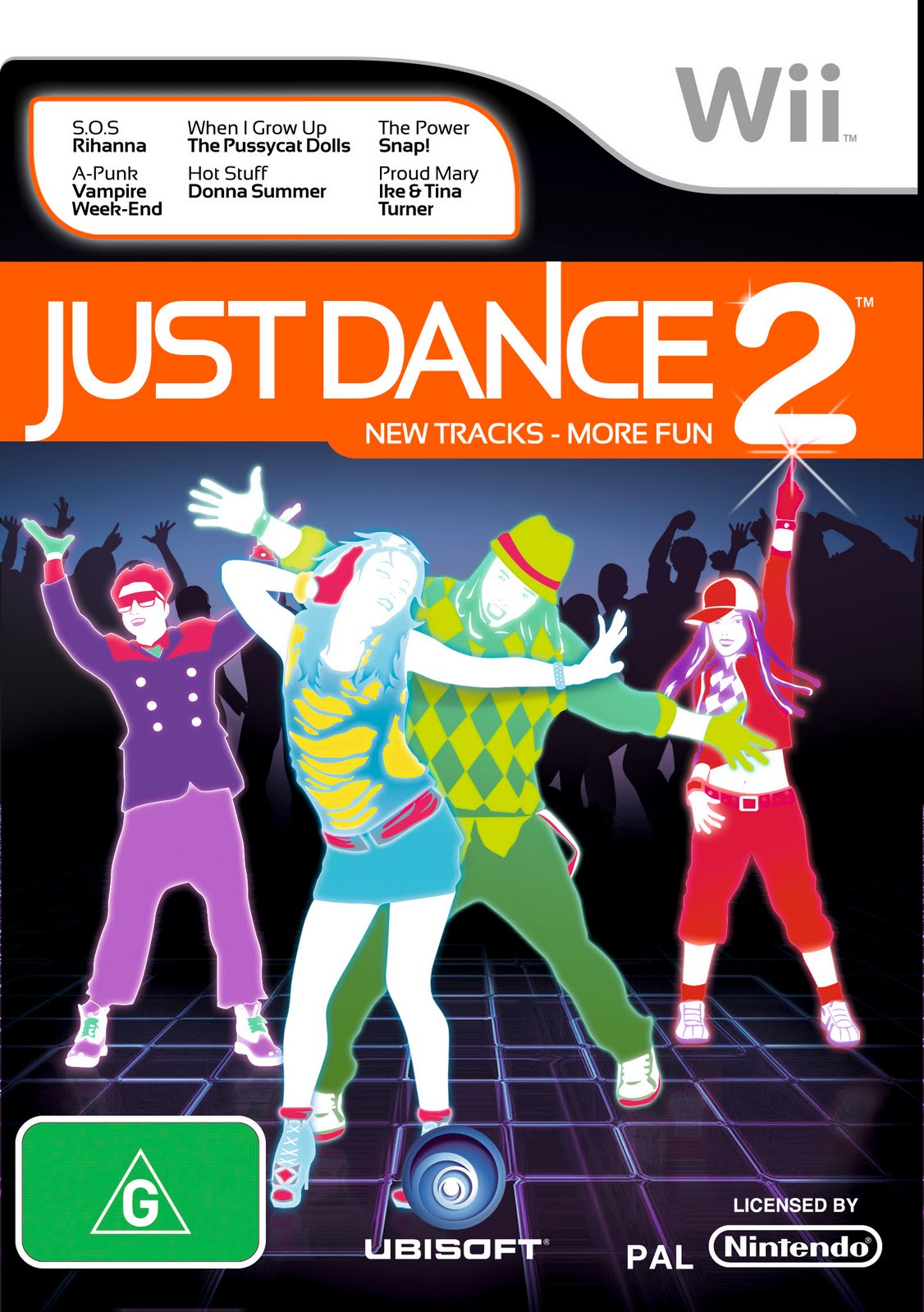 Just Dance 2 - Cover