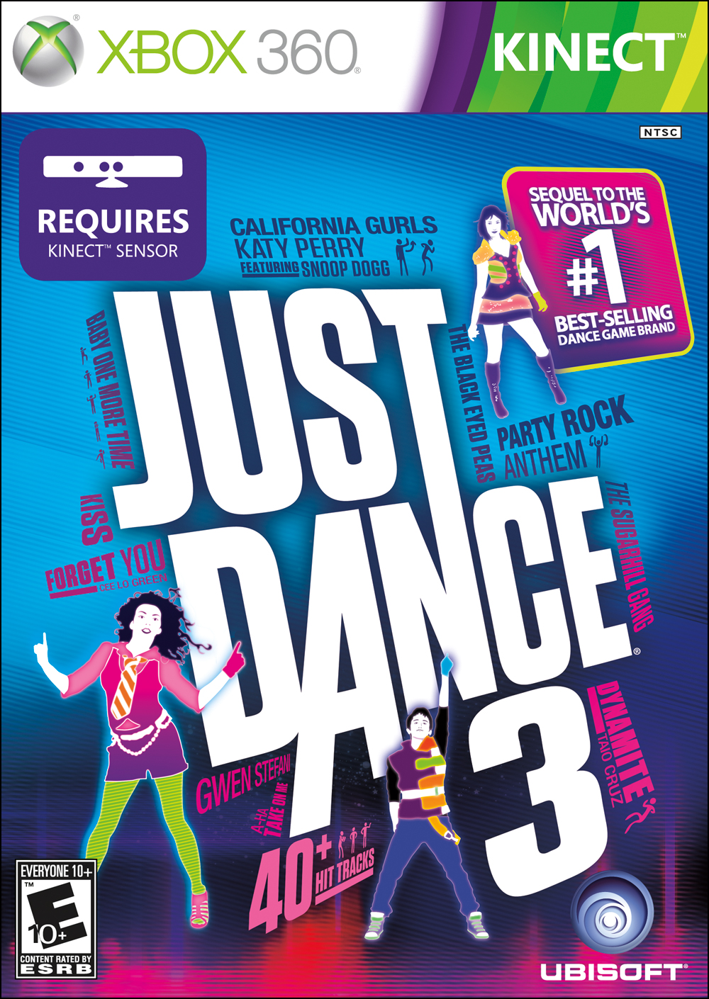 Just Dance 3 - Cover