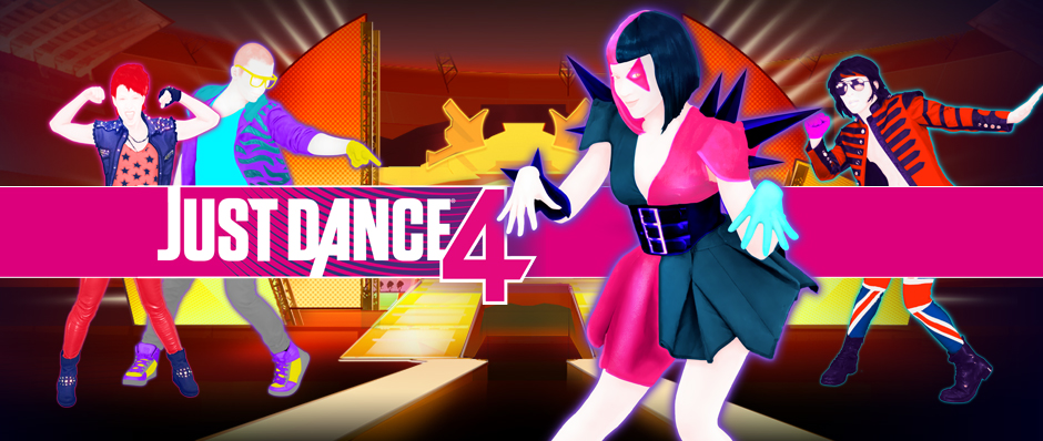 Just Dance 4 - Banner