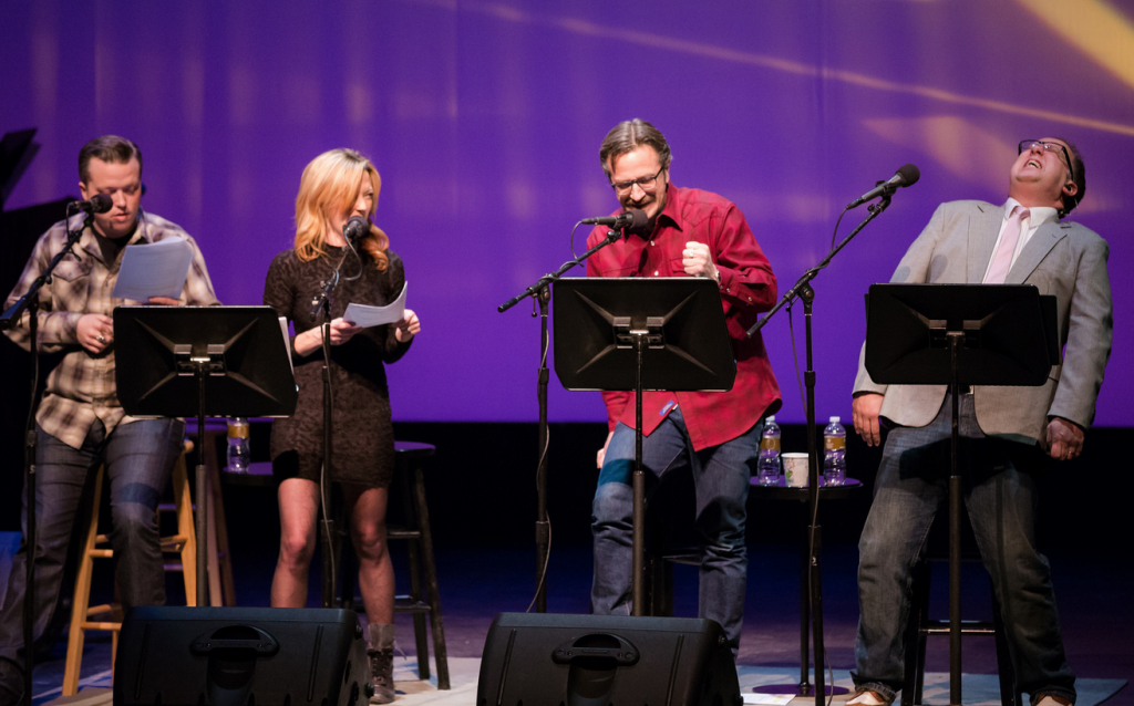 'Wits' at the Fitzgerald Theater - amanda shires - marc maron - john moe