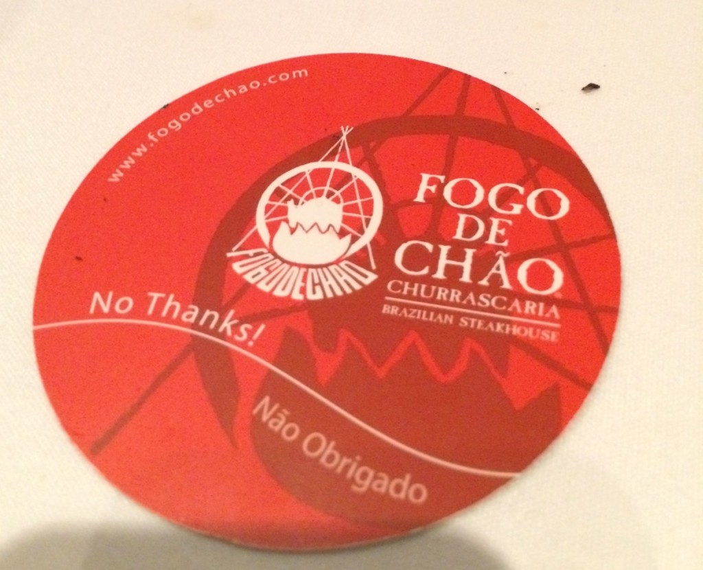 fogo de chao - restaurant review