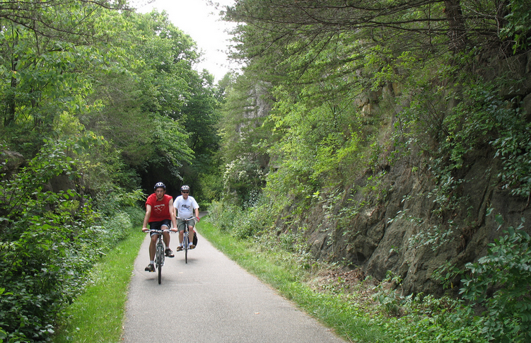 root river trail - lanesboro Minnesota
