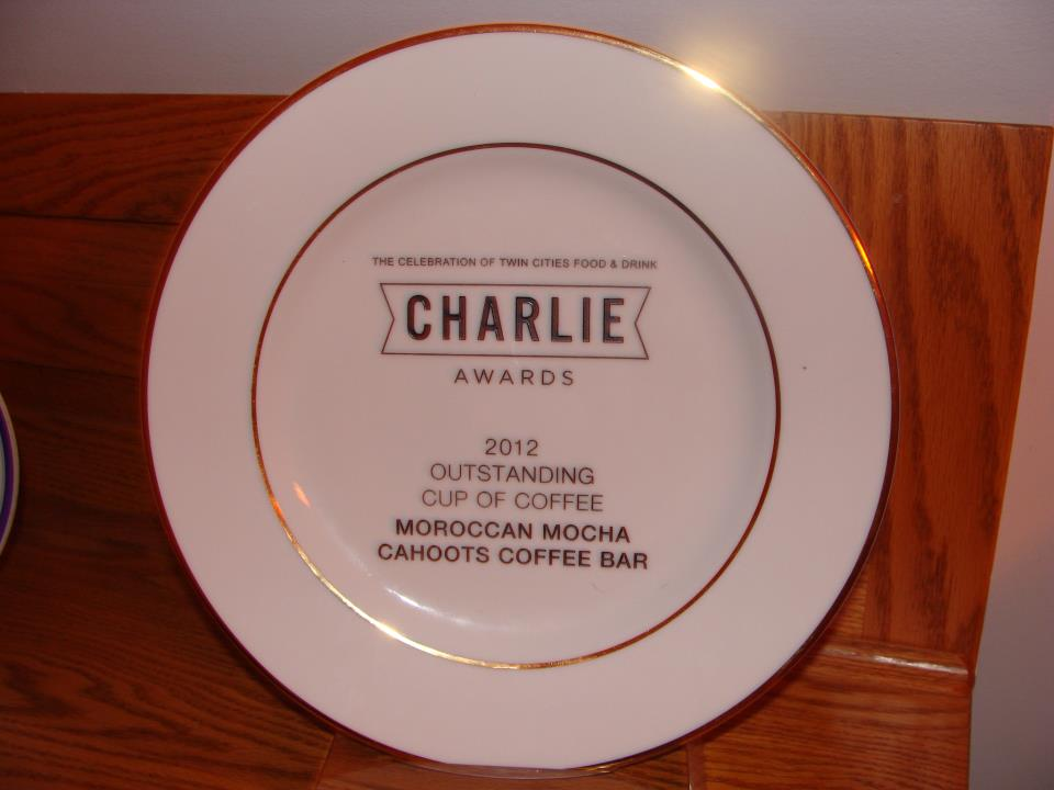 Charlie Awards - Cahoots Coffee Bar