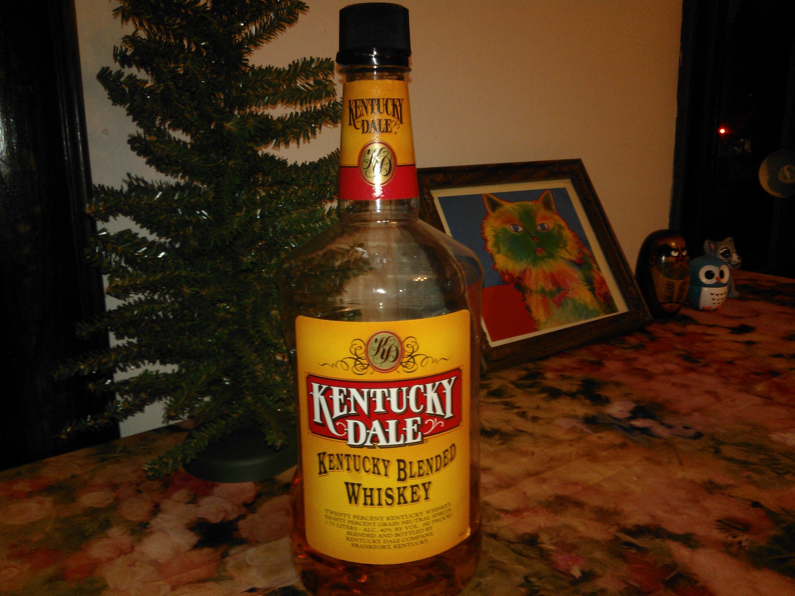 Kentucky Dale Bottle by Erik Bergs