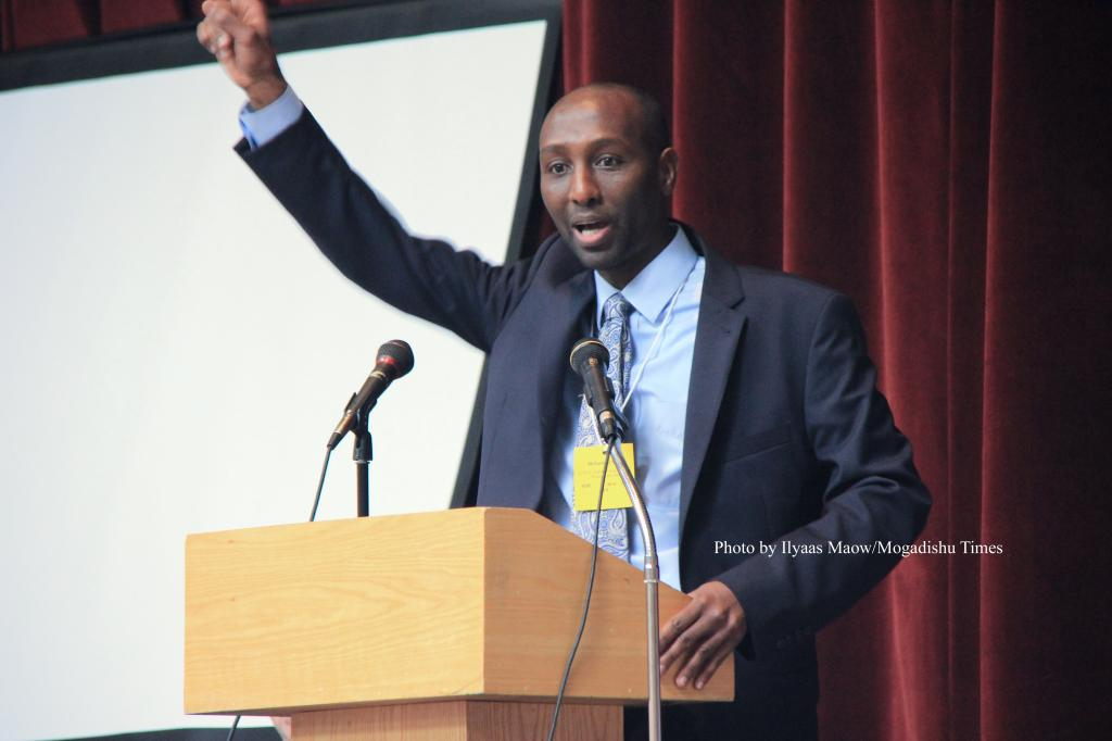 Mohamud Noor Speaking from Mogadishu Times by Ilyaas Maow