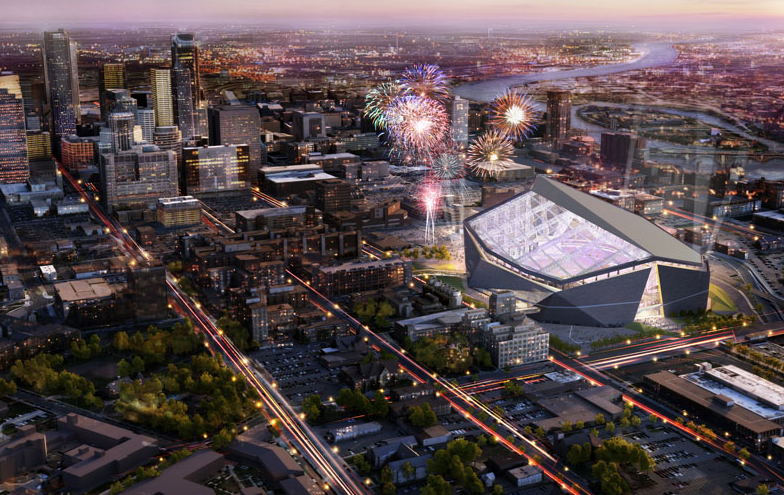 Vikings new Stadium - MLS team