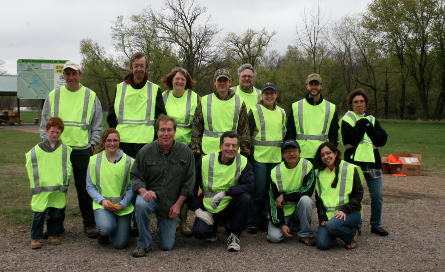 cure - roadside cleanup - 2014 event