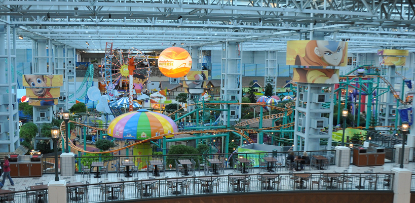 mall of america - nicklodeon universe expansion