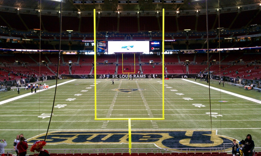 Edward_Jones_Dome_endzone_view