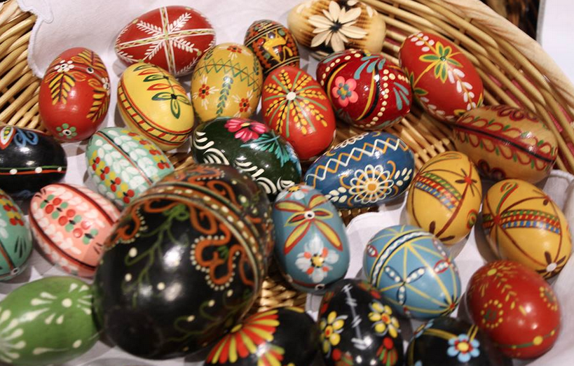 festival of nations - painted eggs