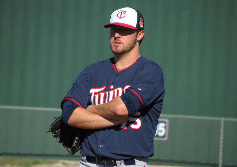 phil hughes - minnesota twins - 2014