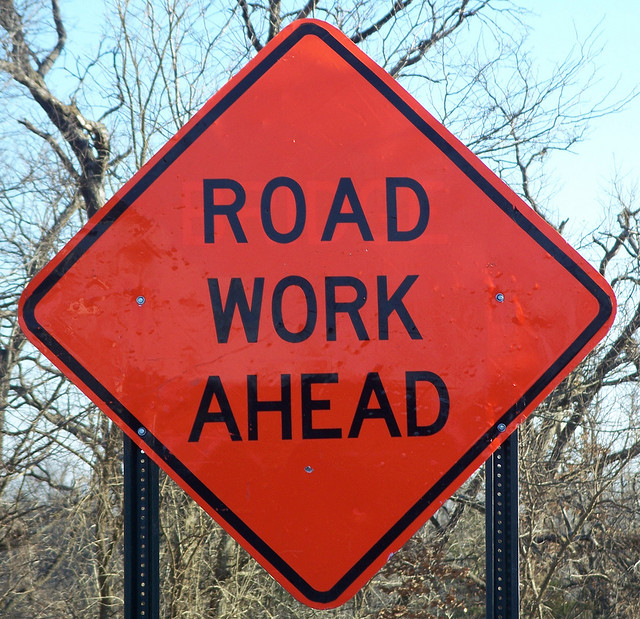 roadwork in MN - June 2014