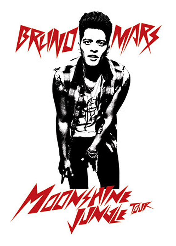 moonsine jungle tour - bruno mars - xcel energy center