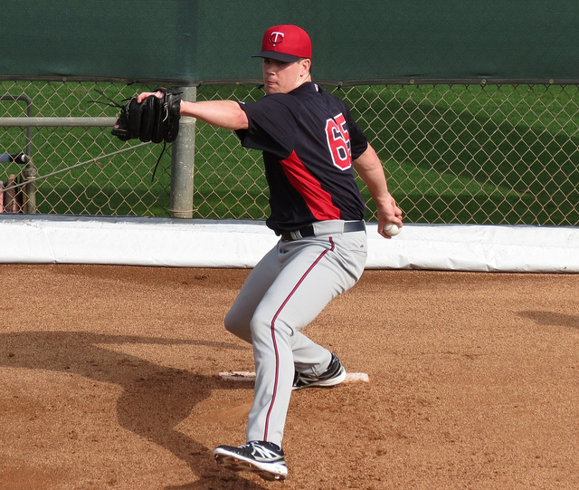 trevor may - twins