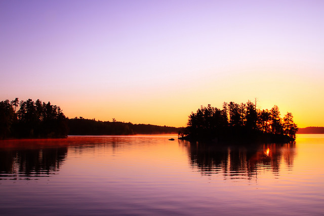 Boundary Waters Sunset - A Strakey