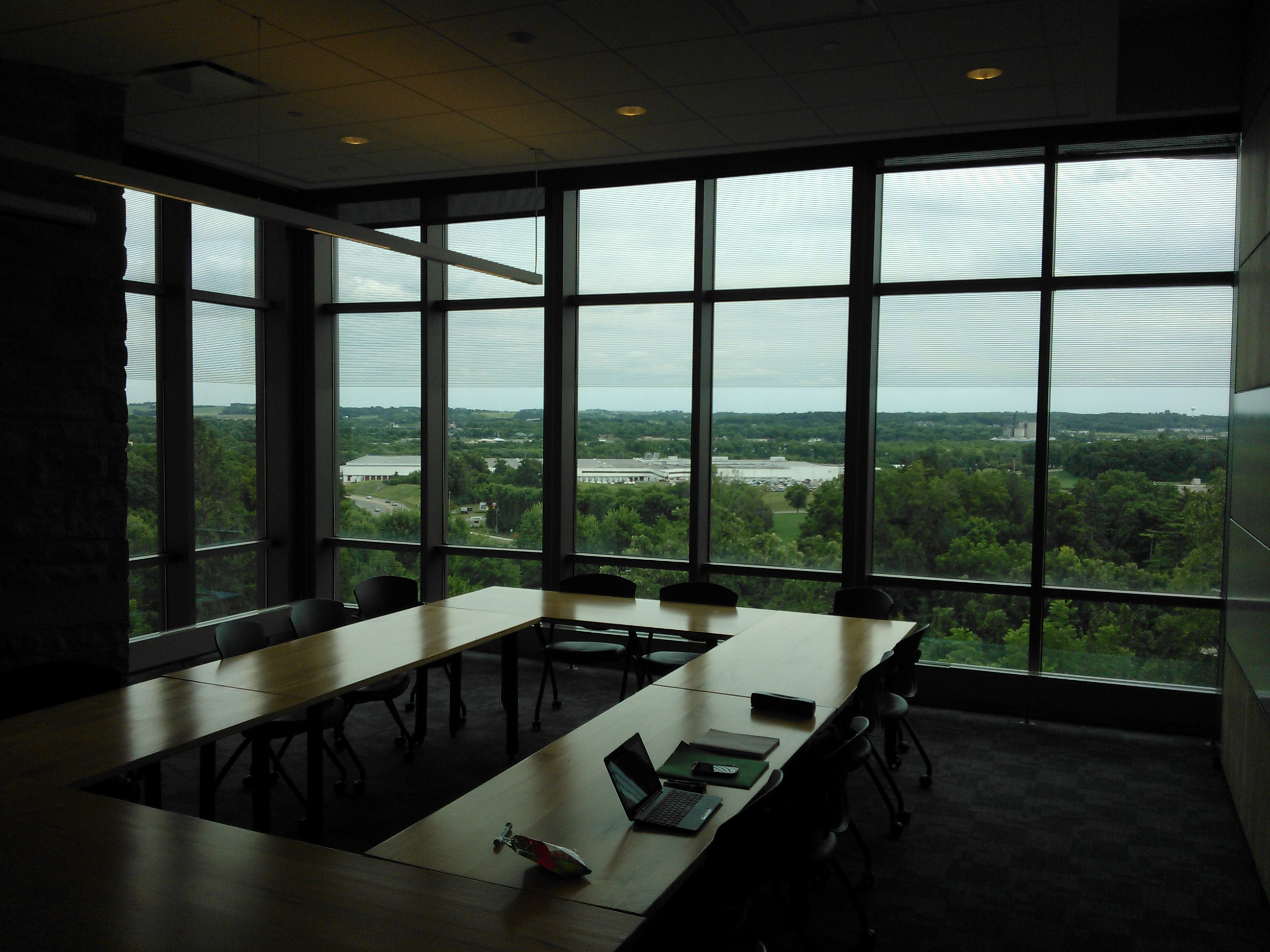 View From Regents Hall Classroom - St. Olaf College, Northfield, MN (Erik Bergs)