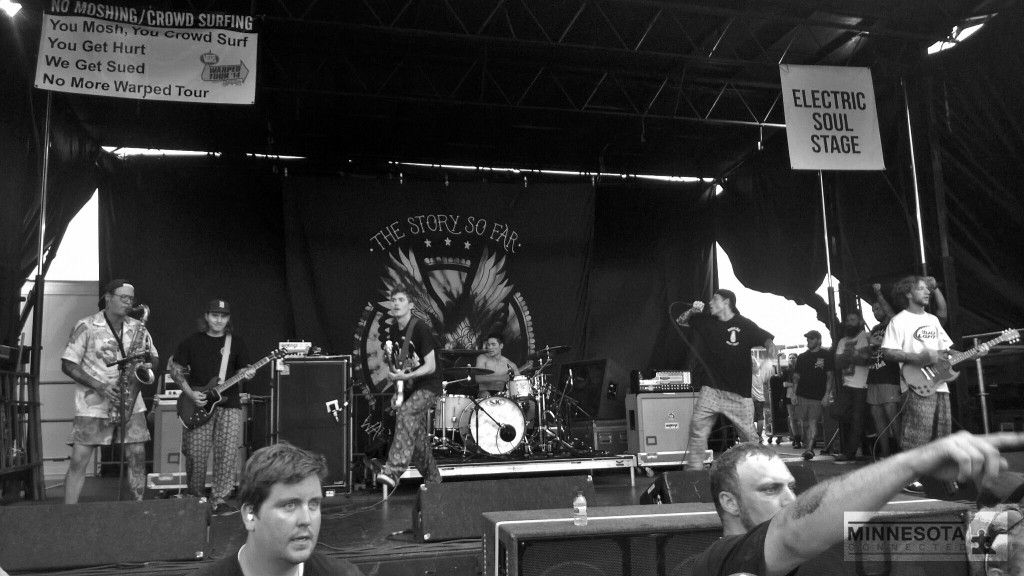 the story so far warped tour