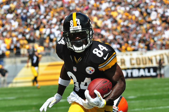 antonio brown -- steelers