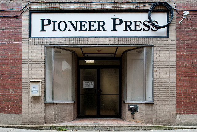 Pioneer Press may be up for sale