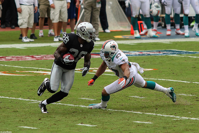 oakland raiders - miami dolphins