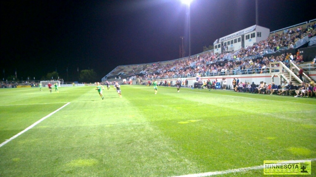 Minnesota United Attacking