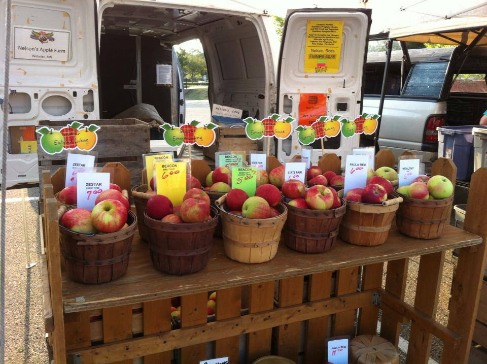 Nelson's Apple Farm Selling Several Varieties