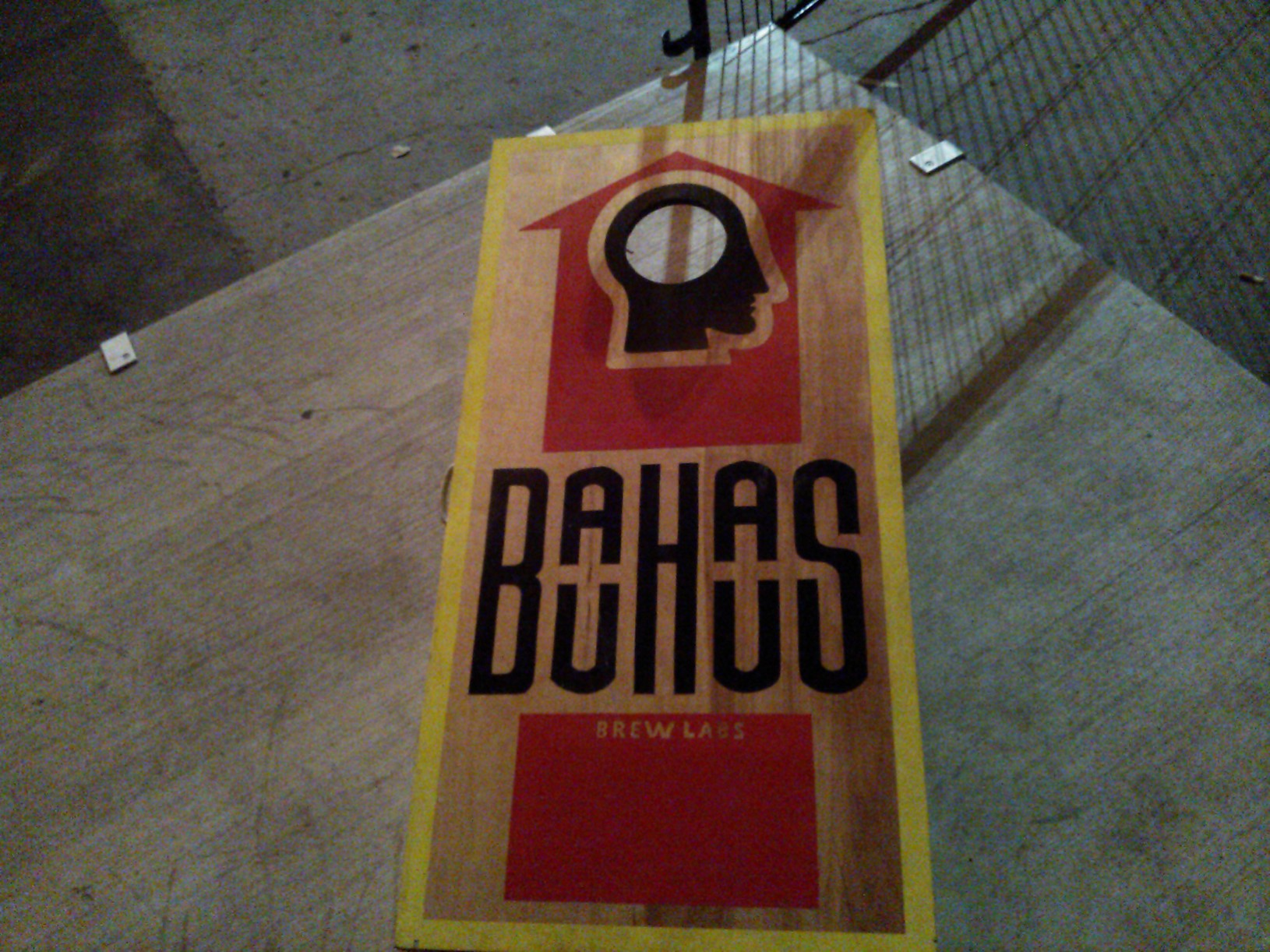 Bag Toss  Board @ Bauhaus Brew Labs