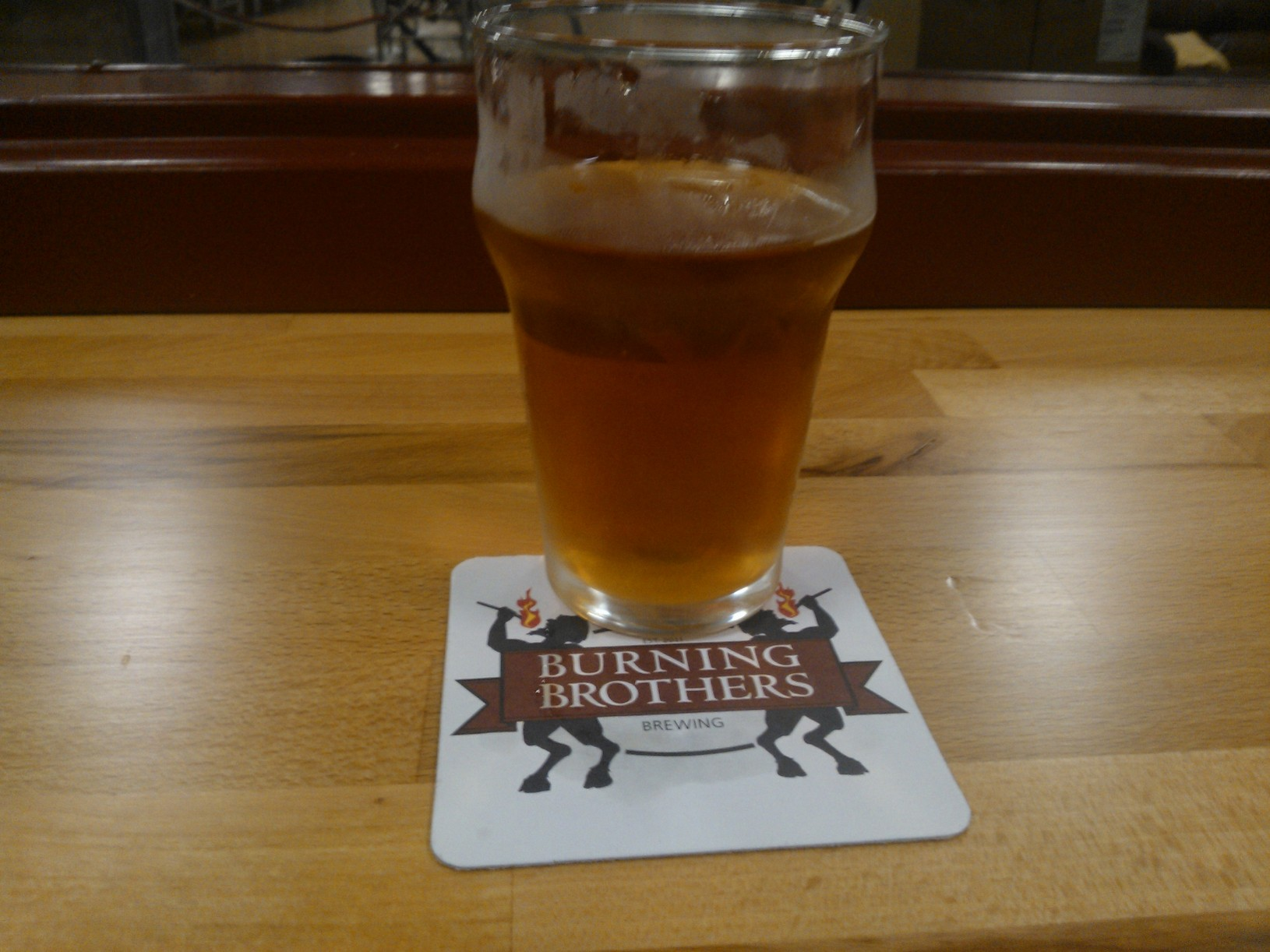 A Half Pint at Burning Brothers Brewing