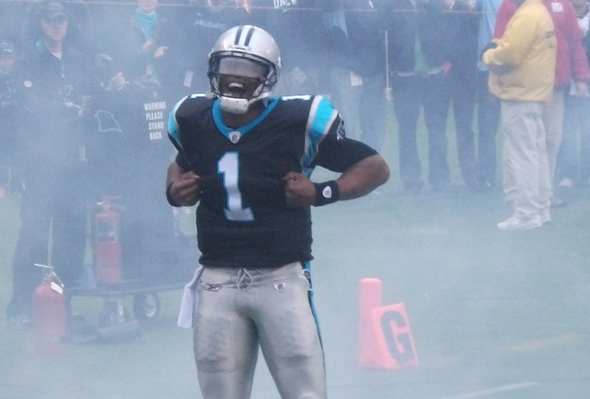 cam newton - panthers